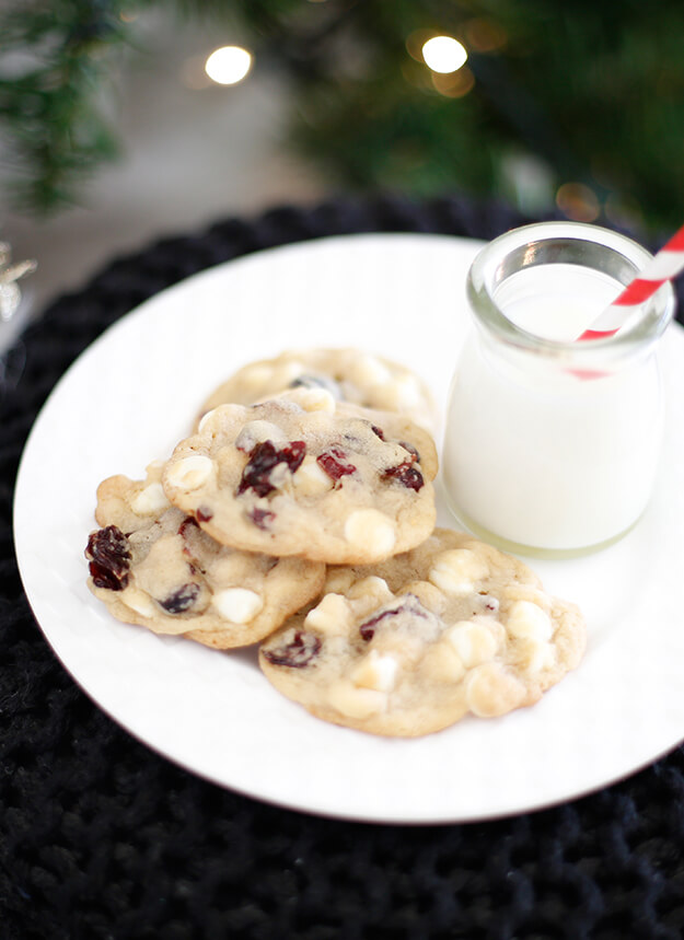 Cranberry White Chocolate Chip Cookies A Christmas Cookie Exchange