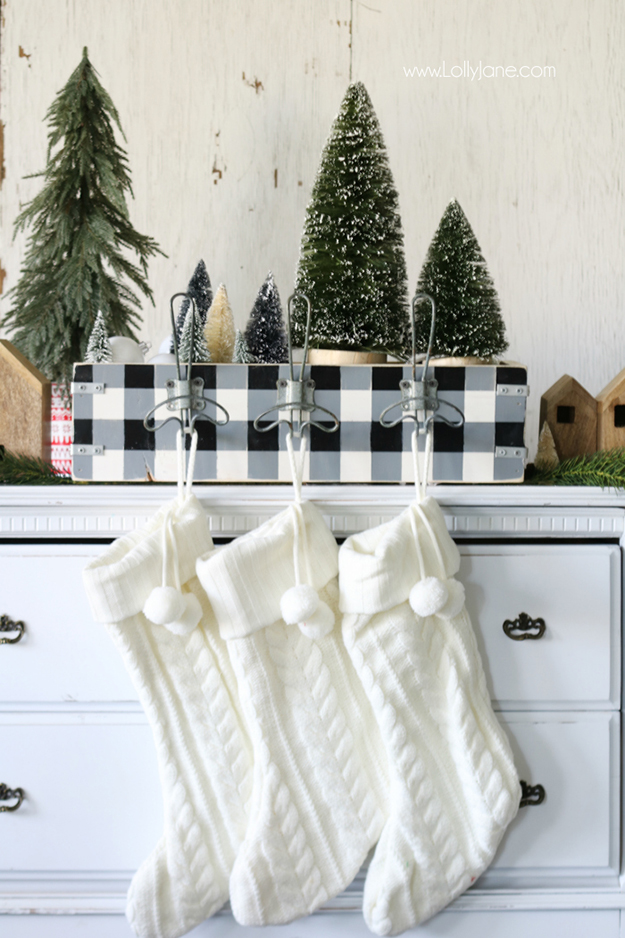 5 Great Ways To Hang Your Stockings Without A Mantel
