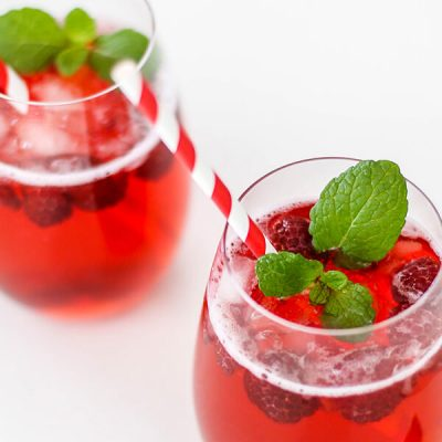 Easy Vodka Cranberry Raspberry Cocktail
