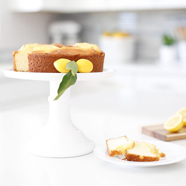 Moist Lemon Ring Cake