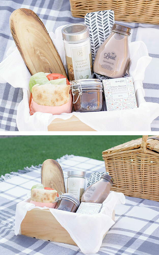 Simple DIY Gift Basket Idea