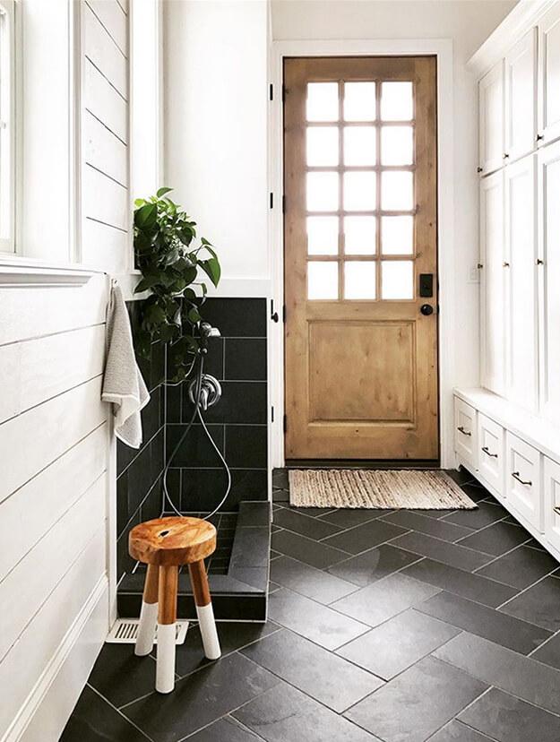 Warm Inviting Inspiring mud rooms