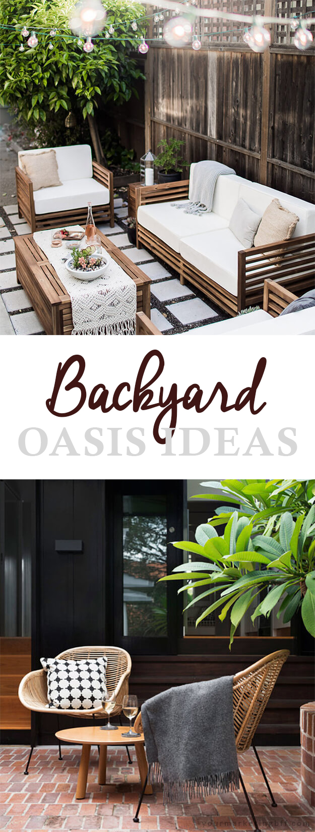 Ten Beautiful Backyard Oasis Ideas
