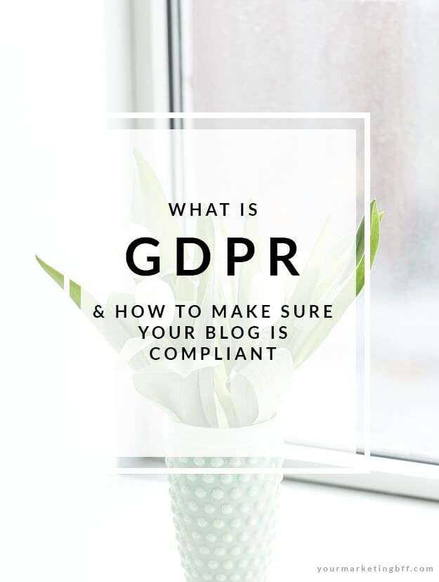 What is GDPR and how to make sure your blog is compliant