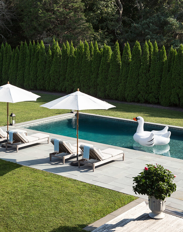 beautiful backyard oasis ideas privacy hedge