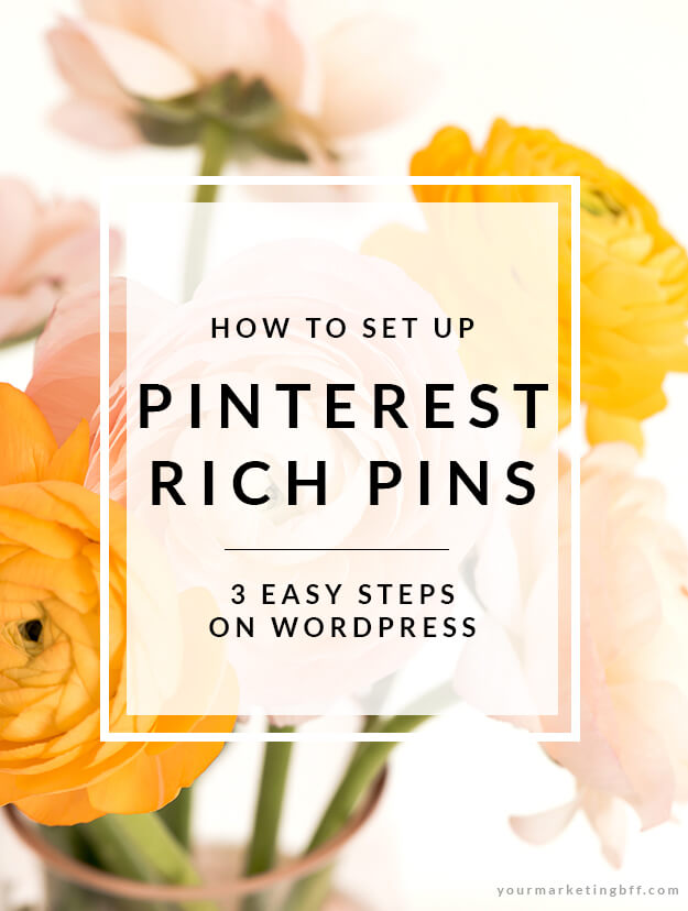 How To Set Up Rich Pins on Pinterest The Easy Way