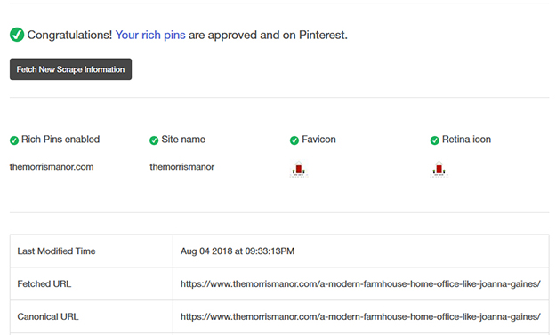 How To Set Up Rich Pins on Pinterest The Easy Way_congrats