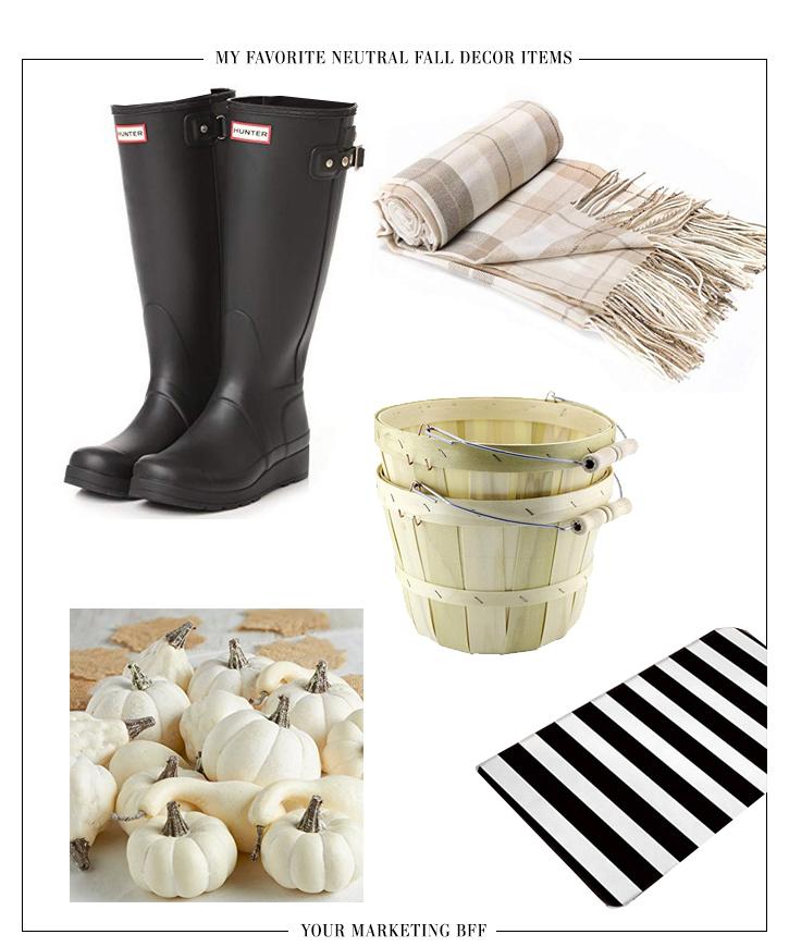 Shop This Post Neutral Fall Decor Items