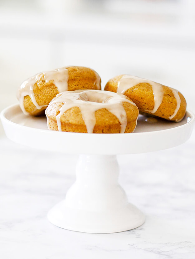 Baked Pumpkin Donuts Recipe Maple Glazed