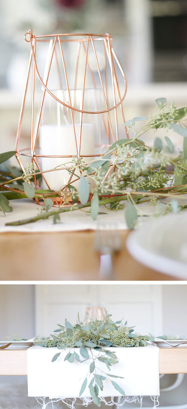 7 Simple Gorgeous Modern Thanksgiving Tablescapes Your Marketing BFF