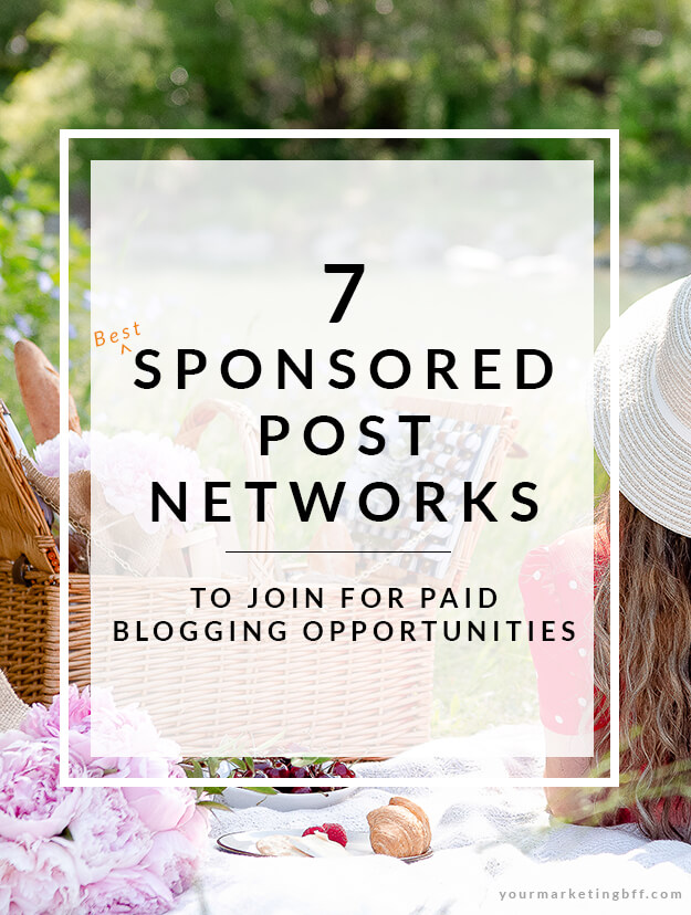 7 Sponsored Post Networks To Join For Paid Blogging Opportunities