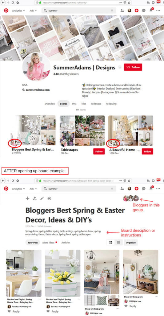 How To Grow Your Blog Build Relationships Pinterest Group Boards