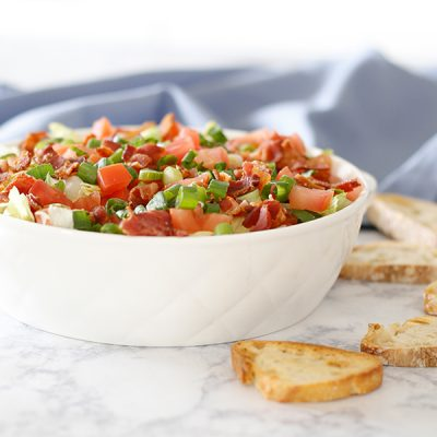 quick easy tasty BLT Dip Recipe