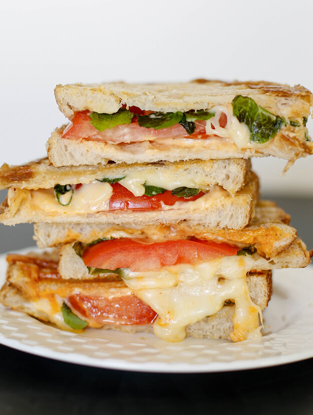 Havarti Mozarella Tomato Basil Sandwich by Your Marketing BFF-1