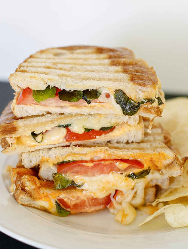 Havarti Mozarella Tomato Basil Sandwich by Your Marketing BFF-2