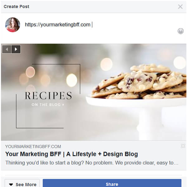 How To Change The Facebook Link Preview Photo