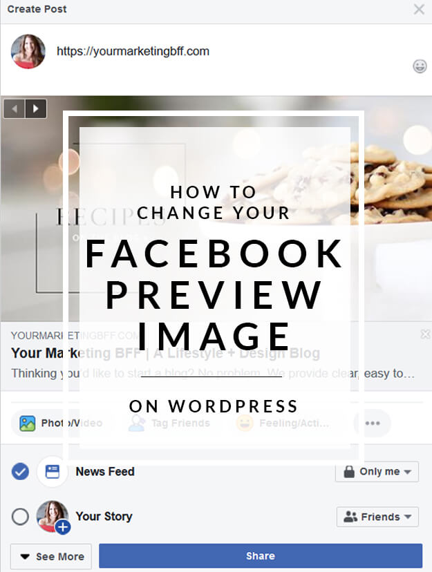 How To Change The Facebook Link Preview Photo - yourmarketingbff com
