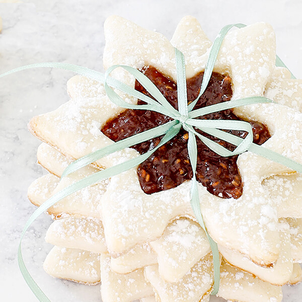 Jam-Filled Cream Cheese Sugar Cookies