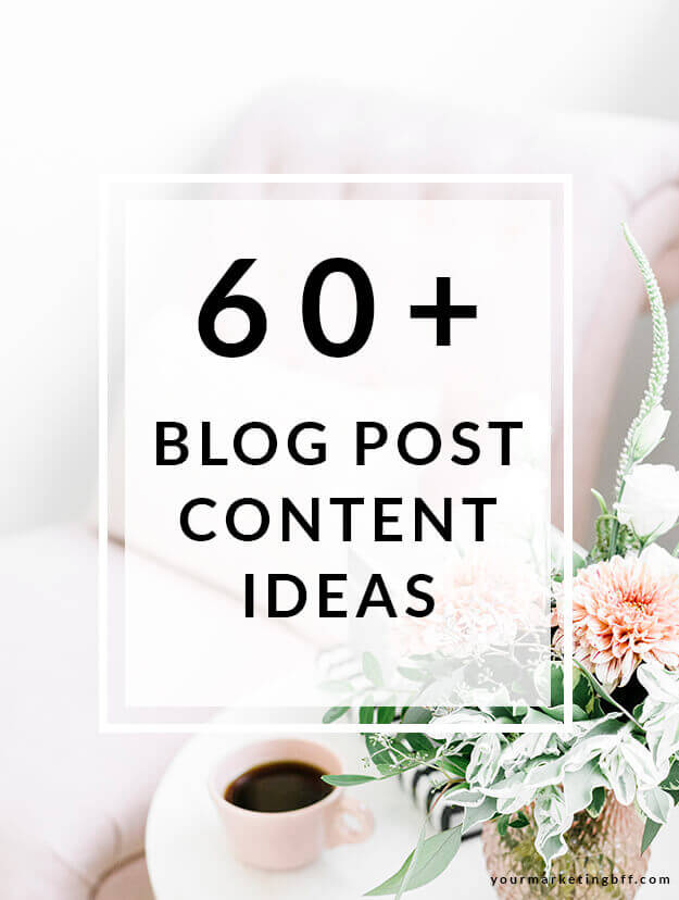 List of Blog Post Content Ideas