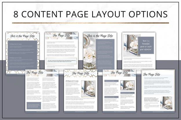 My favorite ebook templates