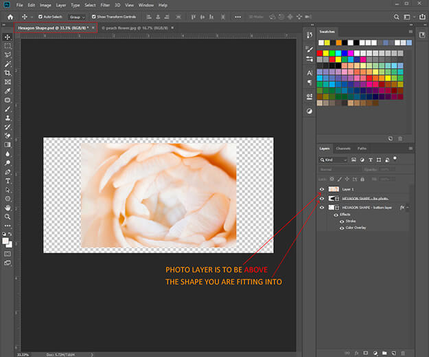 How To Create A Clipping Mask For Photos In Photoshop