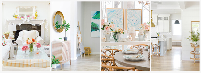 8 GORGEOUS SPRING HOME TOURS