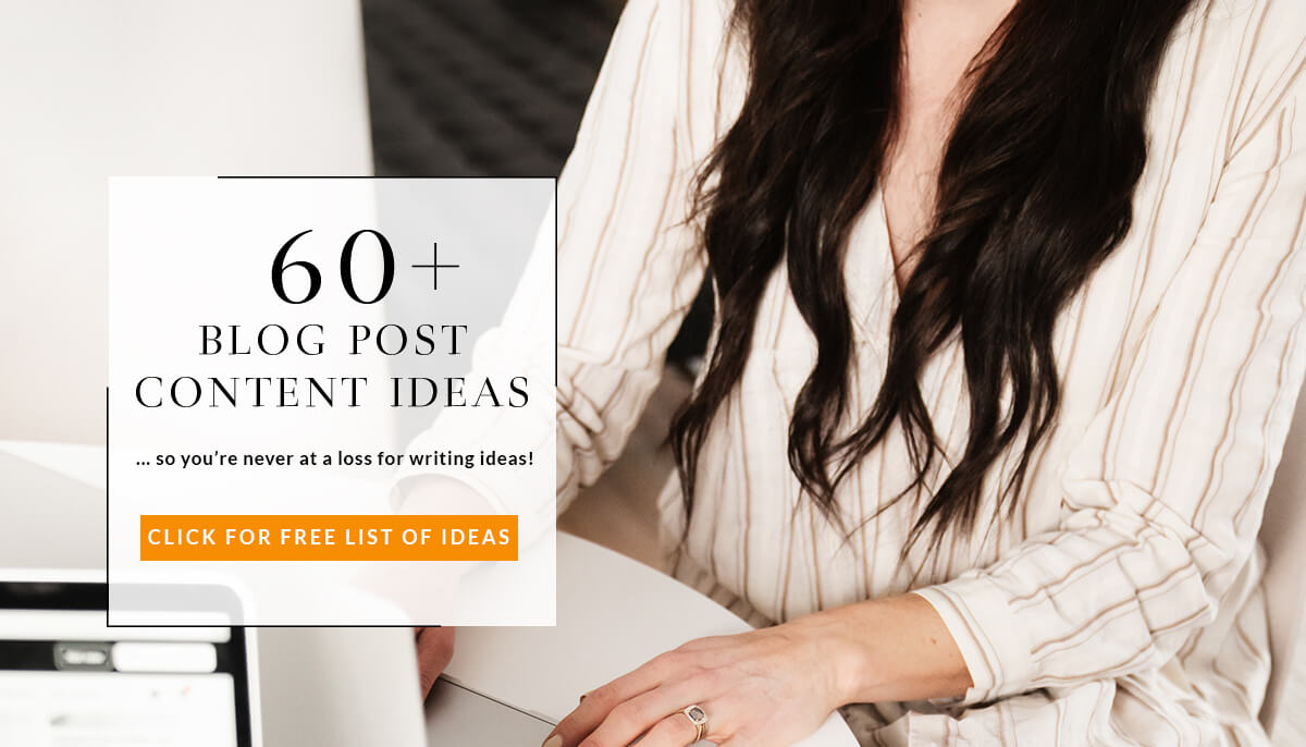60+ free blog post content ideas