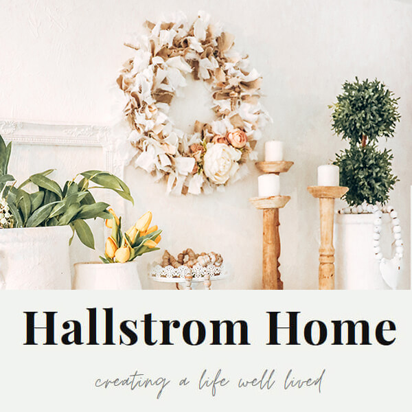 Hallstrom Home website design branding by Your Marketing BFF -feature