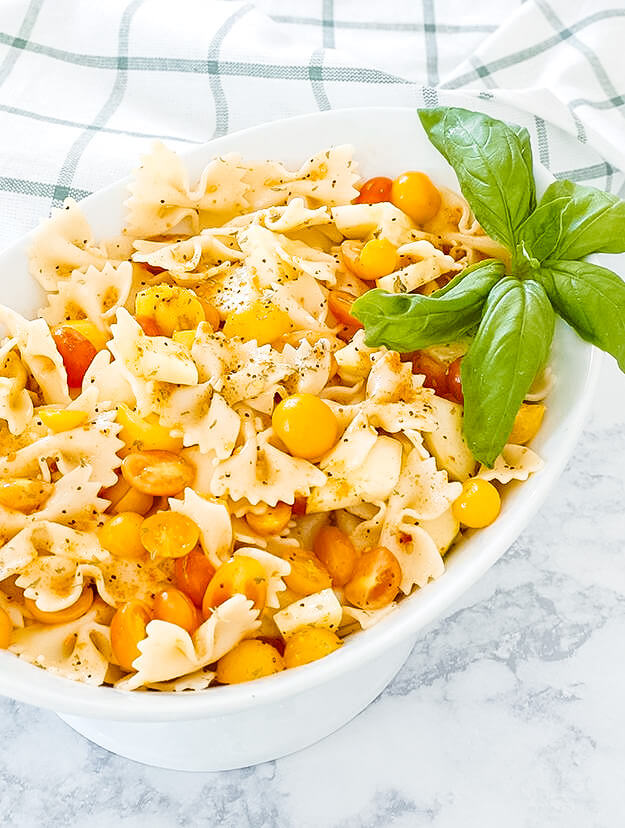 the easiest bow tie pasta salad -4