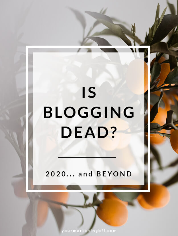 Is blogging dead starting a blog in 2021