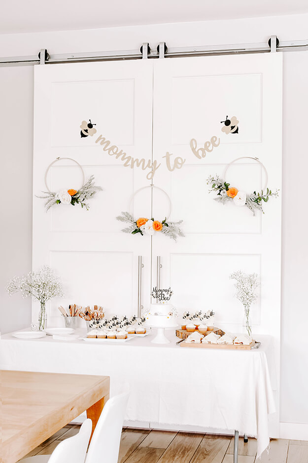 Mommy to Bee baby shower on a budget -1