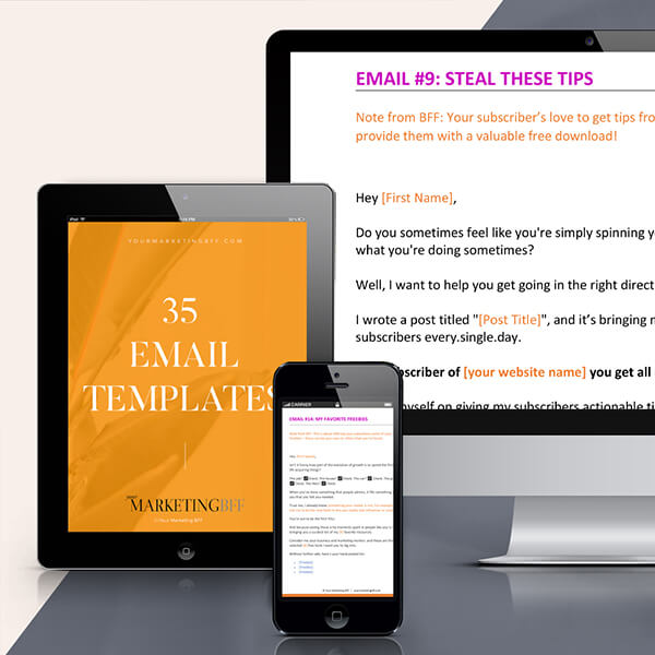 Emails That You Never Have To Write From Scratch!