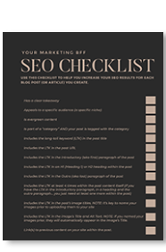 seo checklist download
